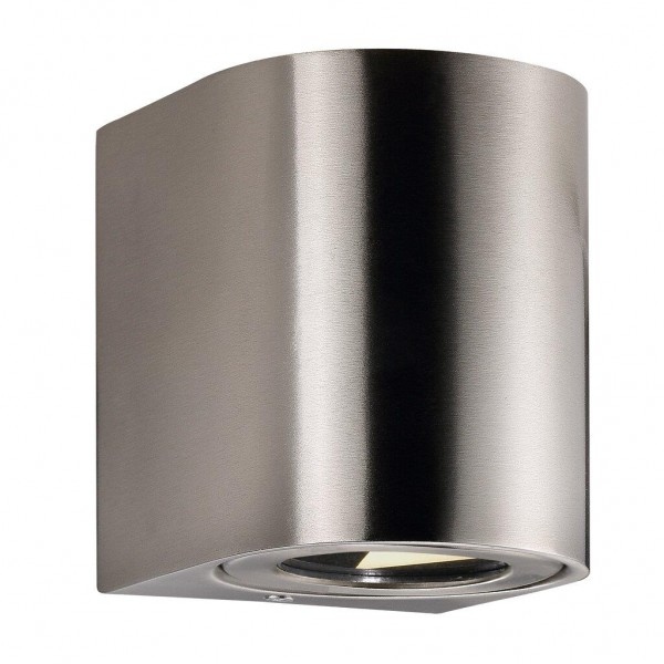 Nordlux 49701034 Canto 2 Stainless Steel Wall Light
