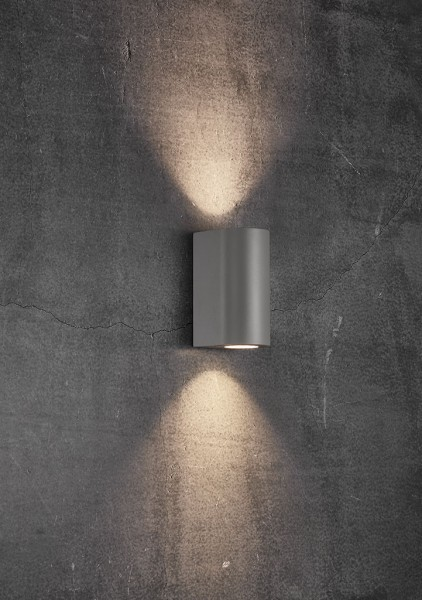 Nordlux 49721010 Canto Maxi 2 Grey Wall Light