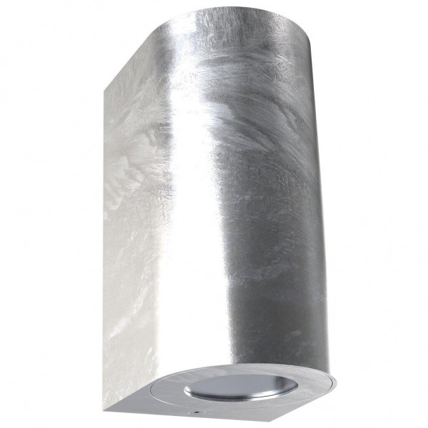 Nordlux 49721031 Canto Maxi 2 Galvanised Wall Light