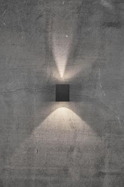 Nordlux 49711003 Canto Kubi 2 Black Wall Light