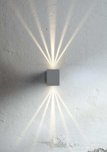 Nordlux 49711010 Canto Kubi 2 Grey Wall Light