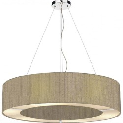 The Light Shade Studio POL0401 Polo 50cm 4 Light Pendant Taupe