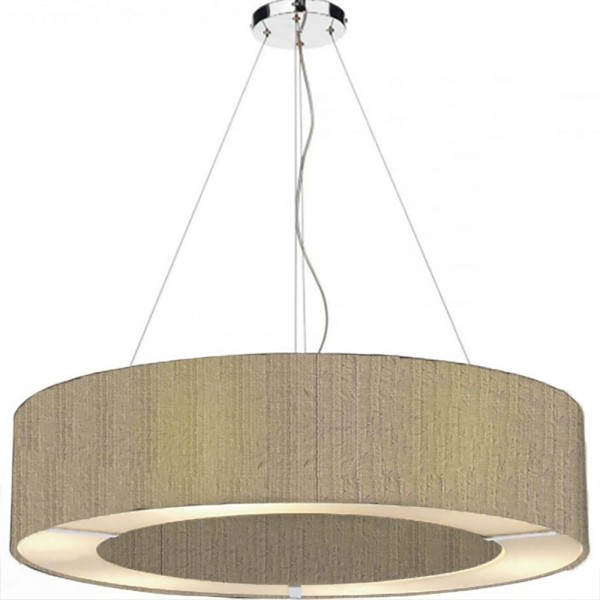 The Light Shade Studio POL0401 Polo 50cm 4 Light Pendant Taupe