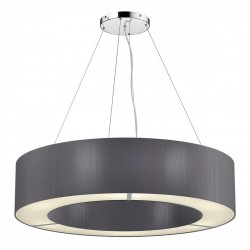 The Light Shade Studio POL0437 Polo 50cm 4 Light Pendant Charcoal