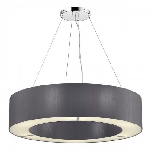 The Light Shade Studio POL0437 Polo 50cm 4 Light Pendant Charcoal