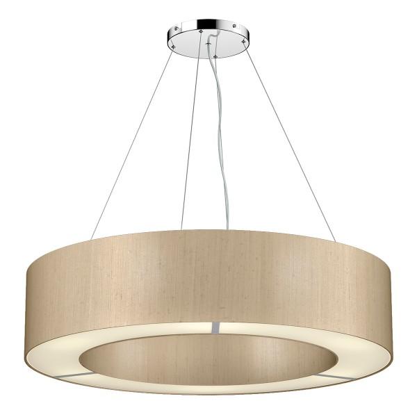 The Light Shade Studio POL0601 Polo 85cm 6 Light Pendant Taupe