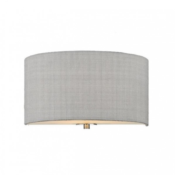 The Light Shade Studio REN0739 Renoir Wall Light Silver Grey