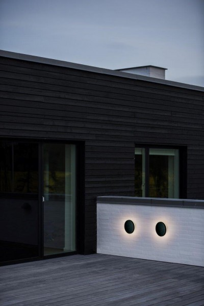 Nordlux 46941003 Artego Black Wall Light