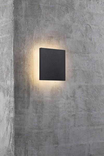 Nordlux 46951003 Artego Black Wall Light