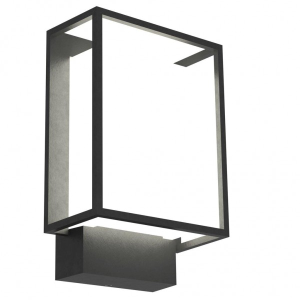 Nordlux 49041003 Nestor Black Garden Wall Light