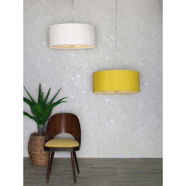 The Light Shade Studio REN1776 Renoir Bespoke 60cm 3 Light Pendant Olive Green