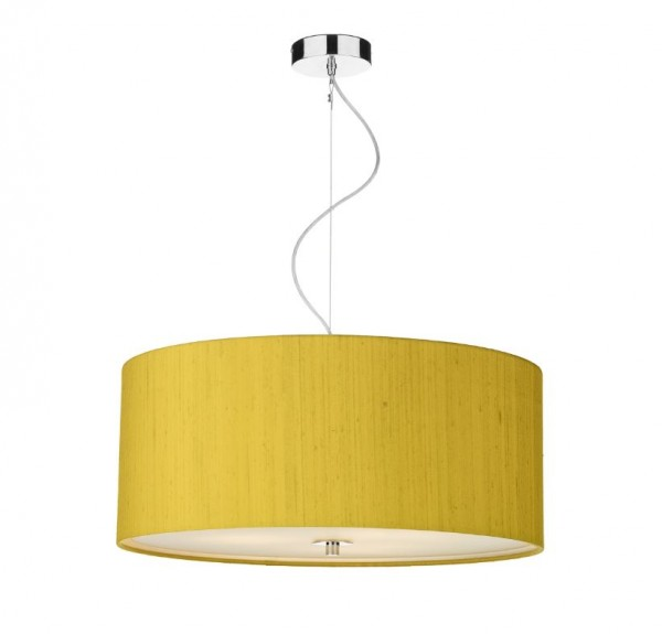The Light Shade Studio REN1735 Renoir Bespoke 60cm 3 Light Pendant Citron