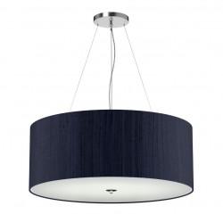 The Light Shade Studio REN0604 Renoir Bespoke 90cm 6 Light Pendant Navy
