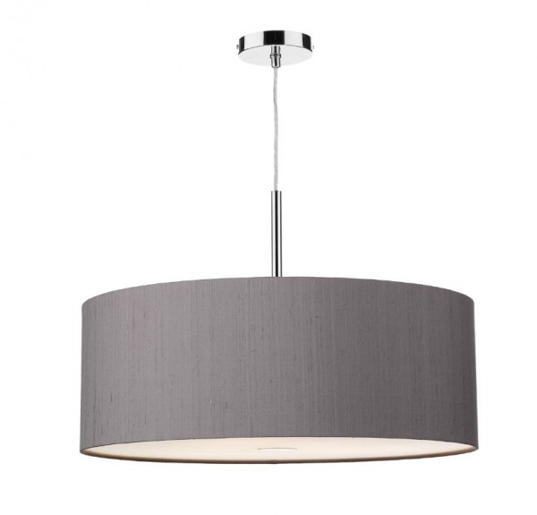 The Light Shade Studio ELL1737 Ellington Bespoke 60cm 3 Light Pendant Charcoal