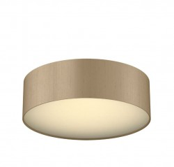 The Light Shade Studio PAO5072 Paolo Bespoke 50cm 3 Light Ceiling Flush Truffle