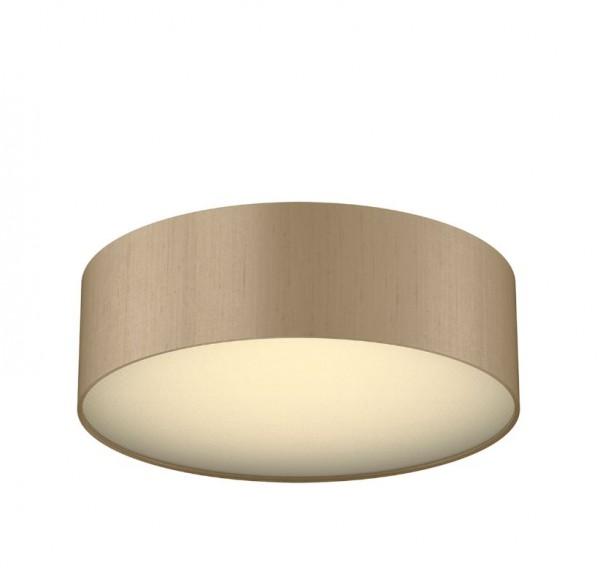 The Light Shade Studio PAO5072 Paolo Bespoke 50cm 3 Light Ceiling Flush Truffle