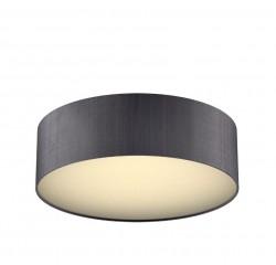 The Light Shade Studio PAO5037 Paolo Bespoke 50cm 3 Light Ceiling Flush Charcoal