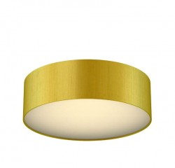The Light Shade Studio PAO5035 Paolo Bespoke 50cm 3 Light Ceiling Flush Citron