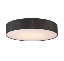 The Light Shade Studio PAO4822 Paolo Bespoke 80cm 4 Light Ceiling Flush Black