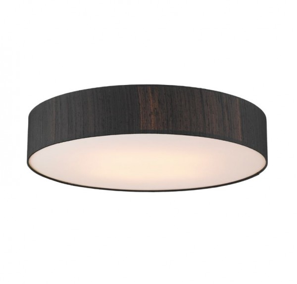 The Light Shade Studio PAO4822 Paolo Bespoke 80cm 4 Light Ceiling Flush Black