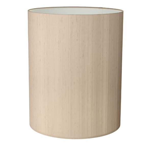 The Light Shade Studio DRT2501 Drum Tall 25cm Shade Taupe
