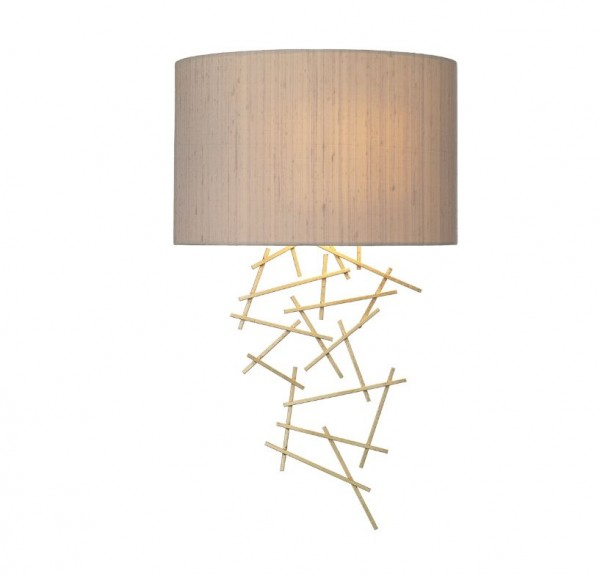 The Light Shade Studio ATW073501 Atwood Wall Washer Taupe