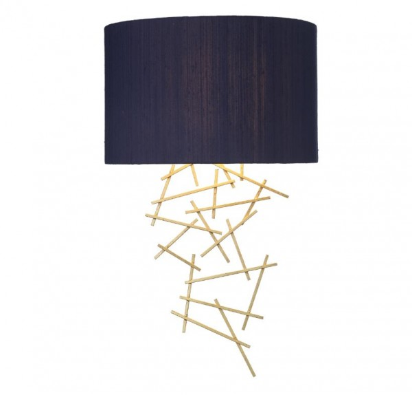 The Light Shade Studio ATW073504 Atwood Wall Washer Navy