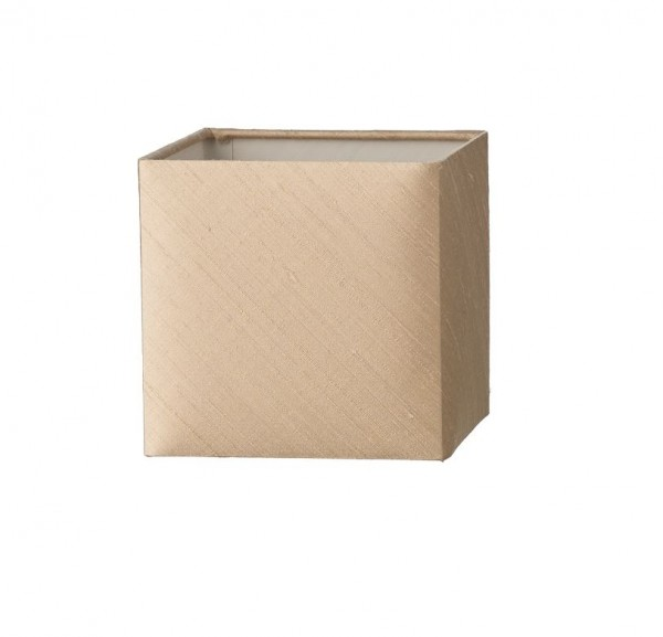 The Light Shade Studio ANV07-01 Anvil Small Square Shade Taupe