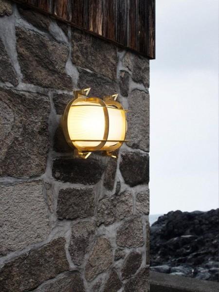 Nordlux 49031035 Helford Brass Wall Light