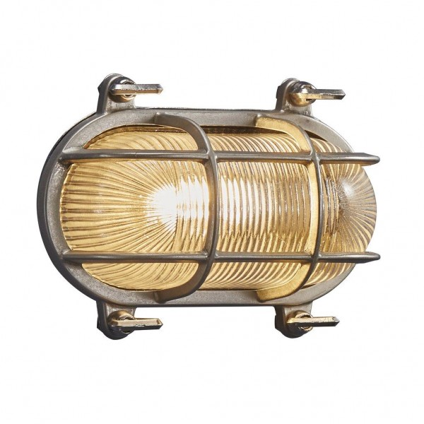 Nordlux 49031055 Helford Nickel Wall Light