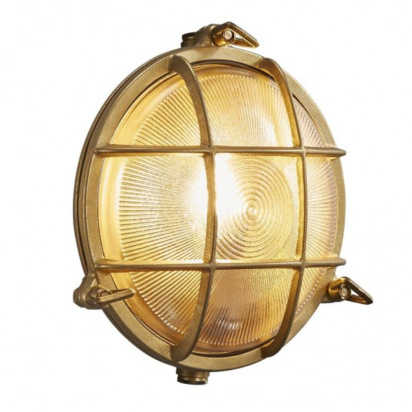 Nordlux 49021035 Polperro Brass Wall Light