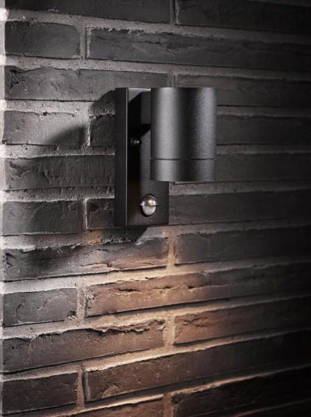 Nordlux 21509103 Tin Maxi Sensor Black Wall Light