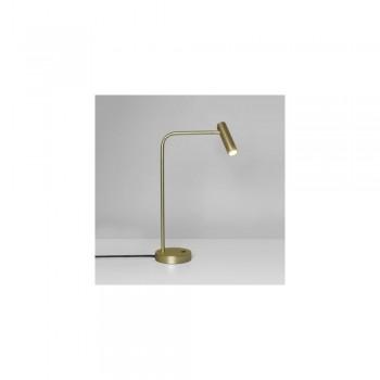 Astro Lighting Enna Desk Lamp 1058007 Matt Gold Finish