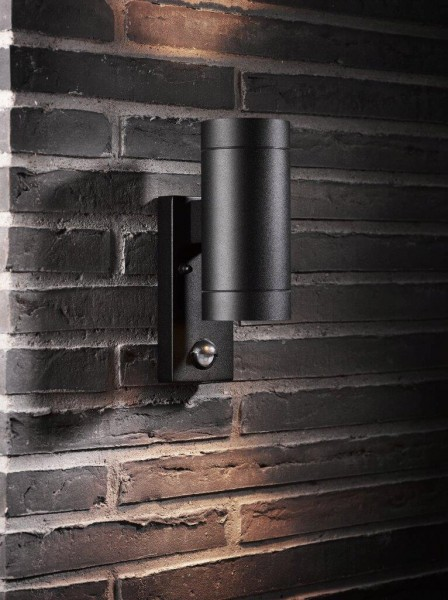 Nordlux 21519103 Tin Maxi Sensor Black Wall Light