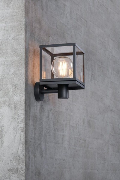 Nordlux 46901003 Dalton Black Wall Light