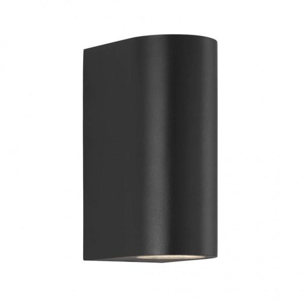 Nordlux 84971003 Asbol Black Wall Light