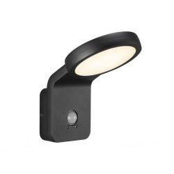 Nordlux 46831003 Marina Flatline PirSensor Black Wall Light