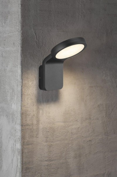 Nordlux 46821003 Marina Flatline Black Wall Light