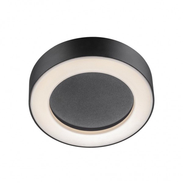 Nordlux 84136003 Teton Black Ceiling Light
