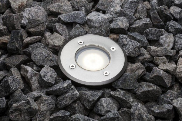 Nordlux 83830034 Pato Stainless Steel Ground Light