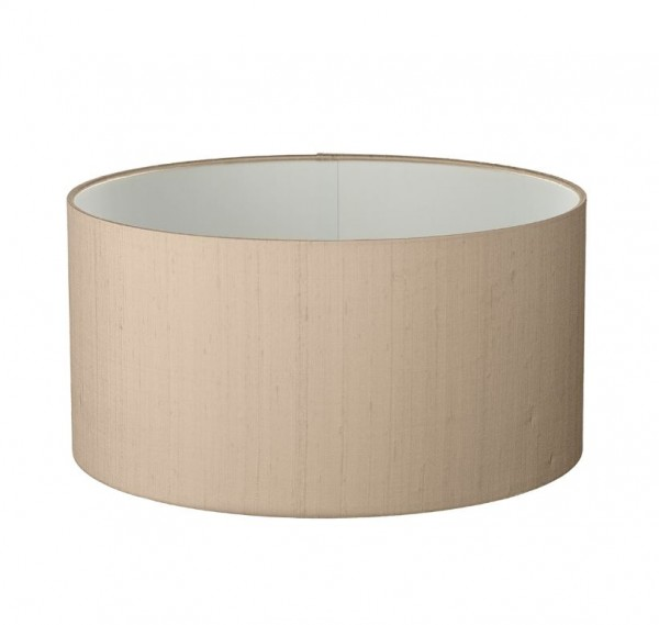 The Light Shade Studio DRS1301 Drum Shallow 13cm Shade Taupe