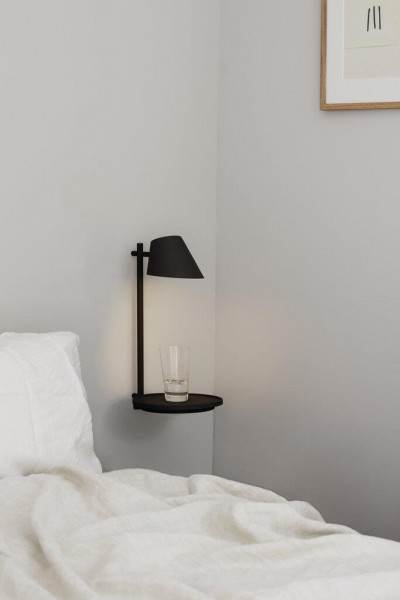 Nordlux 48171003 DFTP Stay Wall Light Black