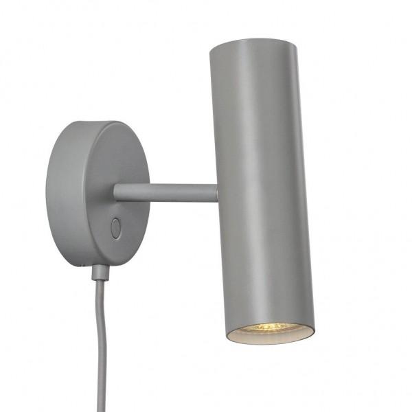 Nordlux DFTP 71681011 Mib 6 Grey Wall Light