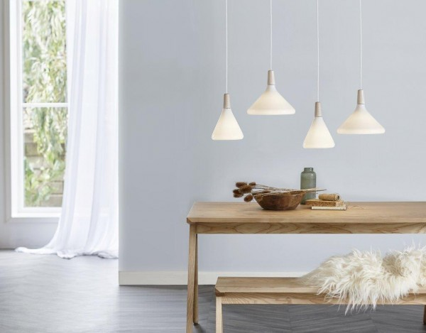 Nordlux 43213001 DFTP Float 27 White Nordic Pendant Light