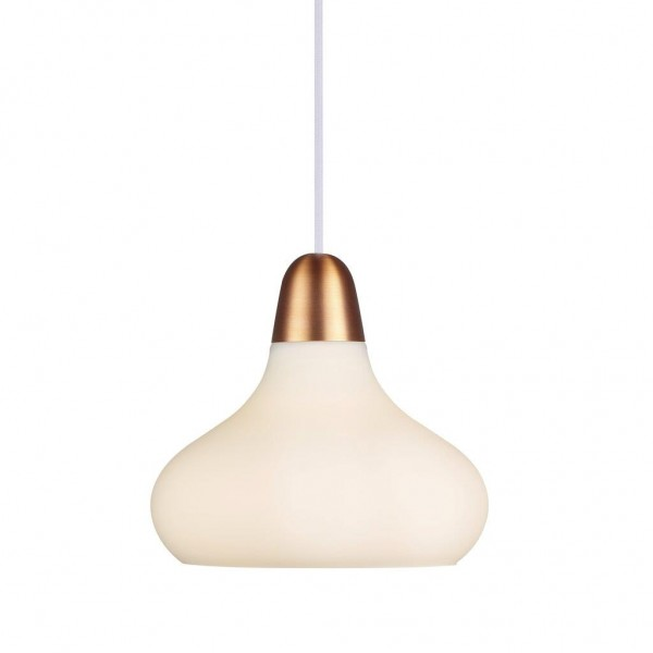 Nordlux 78173030 DFTP Bloom 21 Opal White Pendant Light