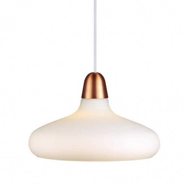 Nordlux 78183030 DFTP Bloom 29 Opal White Pendant Light