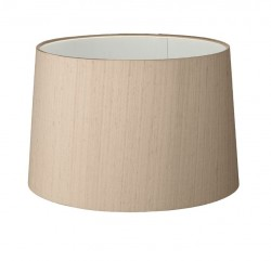 The Light Shade Studio TAP2001 Tapered Drum 20cm Shade Taupe