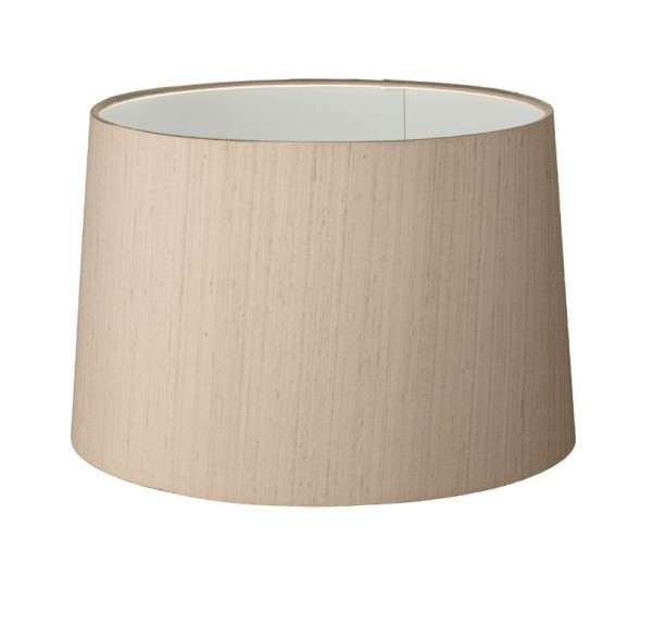 The Light Shade Studio TAP2501 Tapered Drum 25cm Shade Taupe