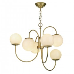 David Hunt GAV0640 Gavroche 6 Light Multi Arm Pendant