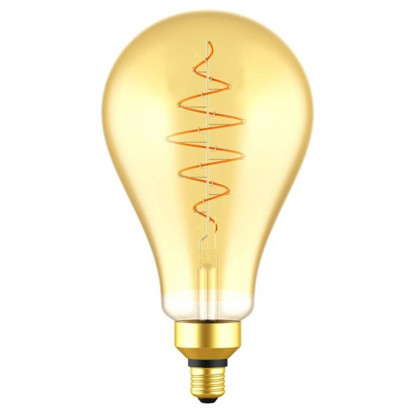 Nordlux 2080262758 Spiral DECO Globe E27 LED Gold Finish